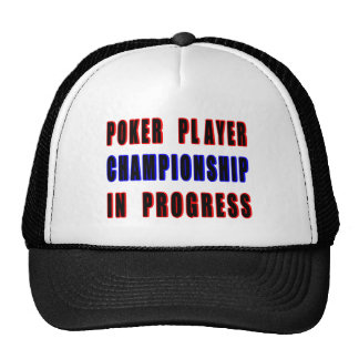 Poker Championship Cap