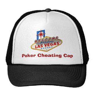 Poker Cheating Cap Mesh Hat