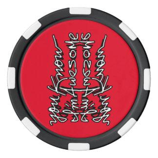 Poker Chip Coin Flip Dispute Settler Poker Chips Set