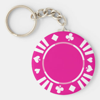 Poker Chip Keychain