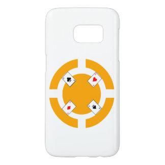 Poker Chip - Orange