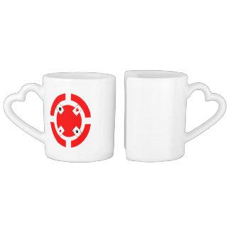 Poker Chip - Red Lovers Mug