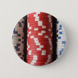 Poker Chips 6 Cm Round Badge