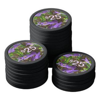 Poker Chips - Blue Ginger