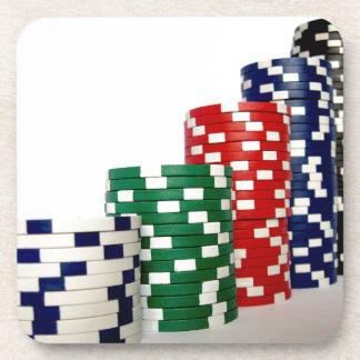Poker Chips Coaster