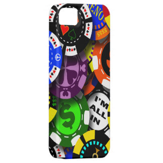 Poker Chips Collage iPhone 5 Case