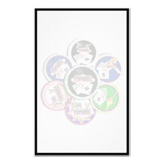Poker Chips Galore Customized Stationery