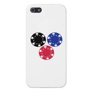 Poker chips gambling case for iPhone 5