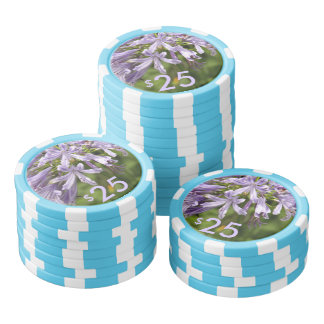 Poker Chips - Lily of the Nile