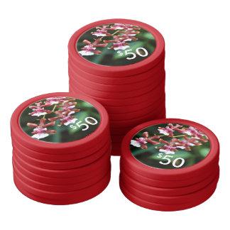 Poker Chips - Sharry Baby Oncidium