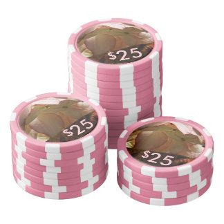Poker Chips - Strawberry Splash
