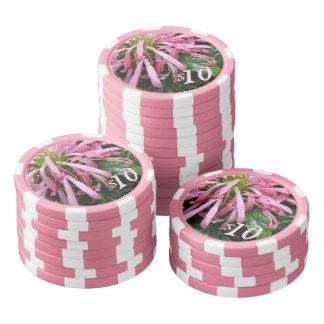 Poker Chips - White Brazilian Plum