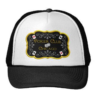 Poker Club Hat