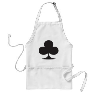 Poker Club Suit Playing Card Standard Apron