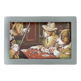 poker dogs.jpeg belt buckle