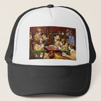 poker dogs.jpeg trucker hat