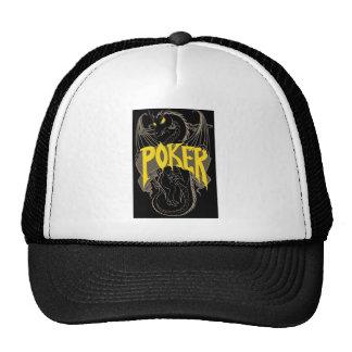 Poker Dragon Mesh Hats