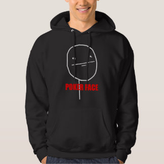 Poker Face - 2-sided Black Hoody