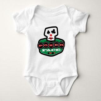 Poker Face Baby Bodysuit