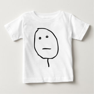 Poker Face Baby T-Shirt