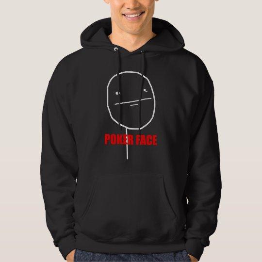 Poker Face - Black Hoody