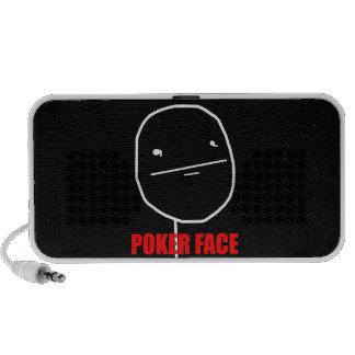 Poker Face - Black Portable Speaker