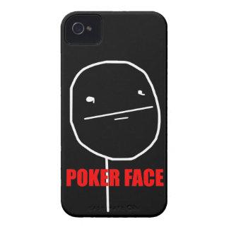 Poker Face - BlackBerry Bold 9700/9780 Black Case Case-Mate iPhone 4 Cases