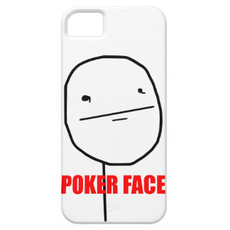 Poker Face - iPhone 5 Case