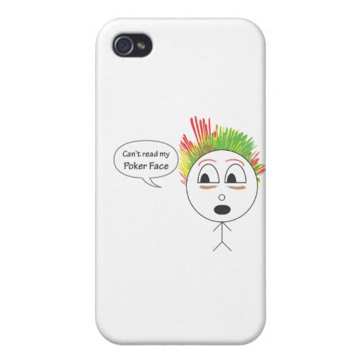 Poker Face iPhone 4/4S Cases