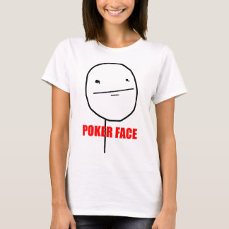 Poker Face - Ladies Fitted T-Shirt