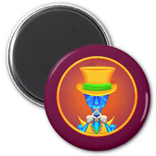 """Poker Face"" Magnets"