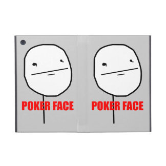 Poker Face Meme iPad Mini Case