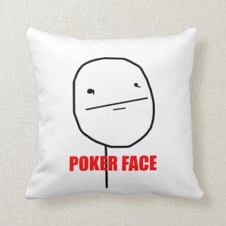 Poker Face - Pillow Throw Cushions