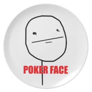 Poker Face - Plate