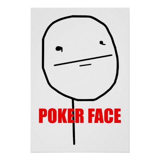 Poker Face - Poster