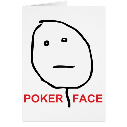 how to keep poker face