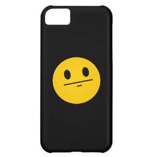 Poker Face Smiley face iPhone 5C Cover