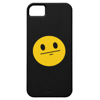 Poker Face Smiley face iPhone 5 Cases
