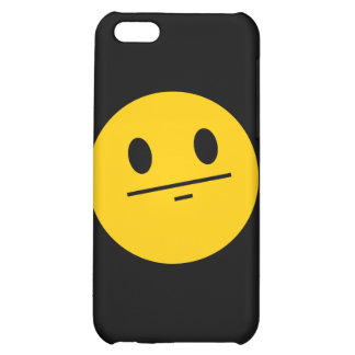 Poker Face Smiley face Cover For iPhone 5C