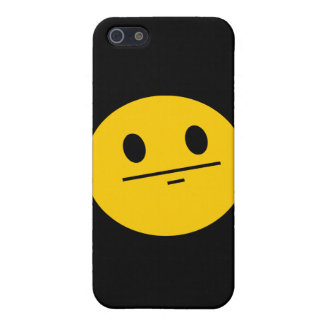 Poker Face Smiley face Cover For iPhone 5