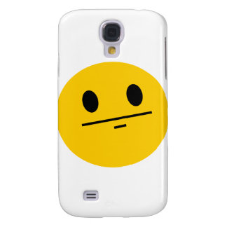 Poker Face Smiley Galaxy S4 Case