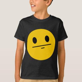Poker Face Smiley T-Shirt