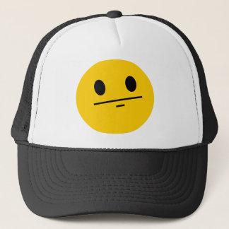 Poker Face Smiley Trucker Hat