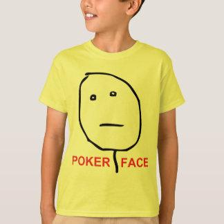 Poker Face (text) T-Shirt