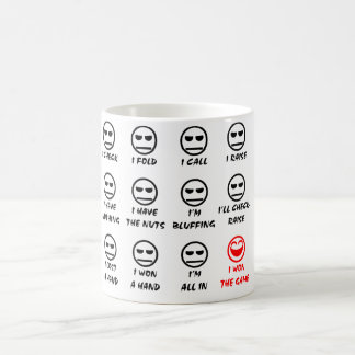 """Poker Faces"" Cup/Mug Coffee Mug"