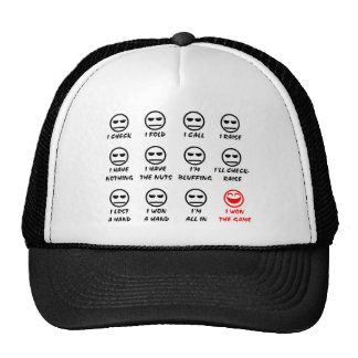 """Poker Faces"" Hat"