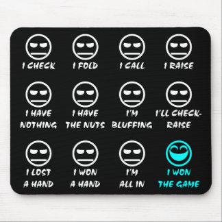 """""""Poker Faces"""" Mousepad"""