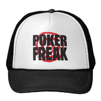 Poker Freak Hats