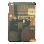 Poker game painting by Vallotton players at table iPad Mini Case