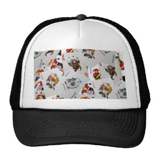 Poker game truck hat